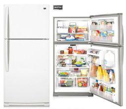 『泰川』MAYTAG/美泰克 M1BXXGMYW 597公升白色雙門冰箱/福利品出清 實體店面