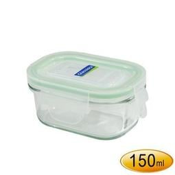 ~全廉社五金~Glass Lock 強化玻璃保鮮盒/玻璃便當盒長型150ml-RP520,GlassLock韓國原裝!!