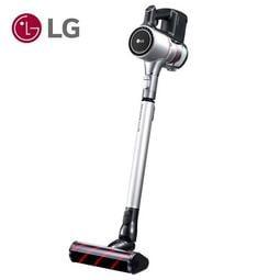 【大眾家電館】107/6/29前加贈多功能吸頭組~LG A9 A9BEDDING2 手持無線吸塵器(雙電池組) 晶鑽銀