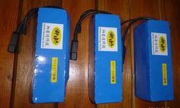 納普達 電動腳踏車 電動自行車 18650 36V 鋰電池 10AH 含充電器 可升級 防水 非 鉛酸電池