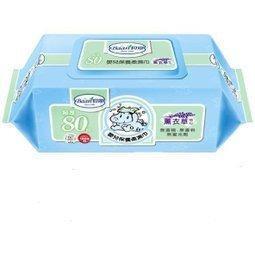 貝恩 BAAN 超純水嬰兒保養柔濕巾80抽/一箱24包