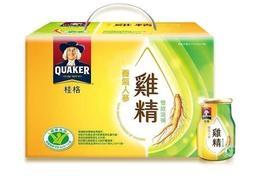 桂格 養氣人蔘雞精/原汁原味雞精 68ml 37元/瓶 18入手提禮盒-公司貨