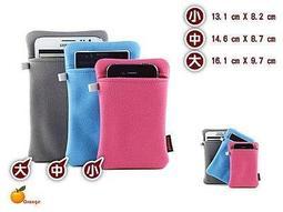增厚版『Orange』超細纖維 手機袋 可放行動電源 M9 Z5 M5 iPhone6S Butterfly 3 S6