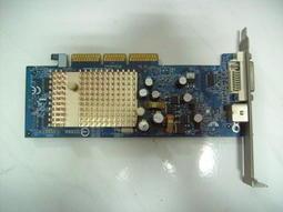 二手 技嘉 GV-N62128DP2 128MB AGP DVI 顯示卡