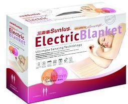 《好康購物網》三樂事SUNLUS輕柔雙人電熱毯(可機洗)SP2702電毯