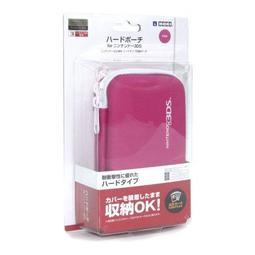 久金本電玩3DS 主機保護硬殼收納包 桃紅色 3DS-048 [HORI公司貨][全新品] 4961818015401