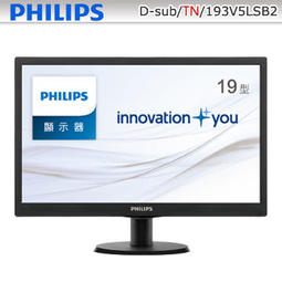 PHILIPS 19型超值寬螢幕( 193V5LSB2)