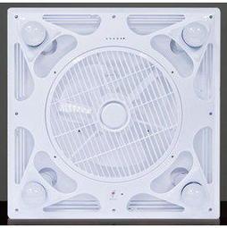 《日成》威利110V 燈扇/節能循環扇 WL-LF111 (附支架.遙控器) 非輕鋼架也能安裝