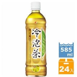 《光泉》冷泡茶-冰釀烏龍-無糖585ml(24入/箱)