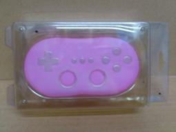 Wii 握把搖桿 控制器膠套 (粉紅) 50 元