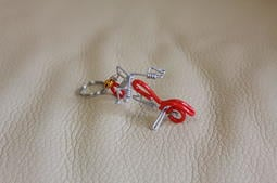 超可愛 手工 機車 哈雷 造型 鈴鐺 鑰匙環 鑰匙圈 婚禮小物 同學送禮 收藏 收集 留念