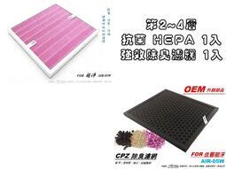 【米歐 HEPA 濾心】瑞士抗菌 適用 佳醫 超淨 AIR-05W 第2~4層 (規格同 HEPA-05)