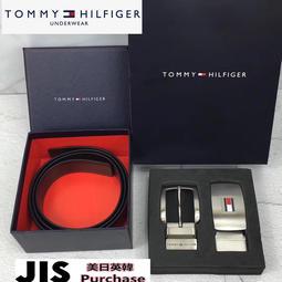 全新實拍 正品Tommy Hilfiger 皮帶 雙面雙色 TH 真皮腰帶 男 上班休閒 經典Logo 黑+棕現貨