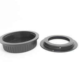 後蓋有擋板有檔版 M42 Zeiss Pentax 42MM卡口鏡頭轉Canon EOS EF相機身轉接環M42-EOS
