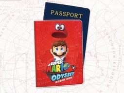 ●小確幸●【NS超級瑪利歐奧德賽 特典-護照保護套/護照套】