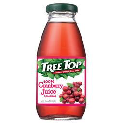 樹頂100%蔓越莓綜合果汁玻璃罐300ml*2罐