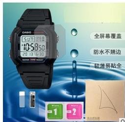 圓形 手錶防爆膜 可用於 CASIO 卡西歐 DW5600 DW5610 W800H-1AV A158WA-1