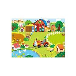 地板大貼紙-歡樂農場/球球館