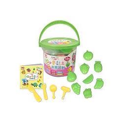 3Q創意DIY/3Q小麥黏土:水果派對(桶裝18色)
