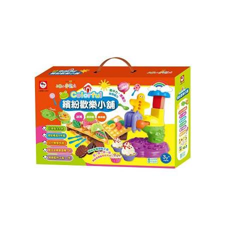 3Q小麥黏土:Colorful 繽紛歡樂小舖