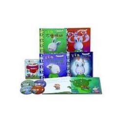 毛毛兔的情緒成長繪本II(全套4冊+4CD)