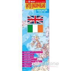 英國、愛爾蘭地圖