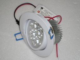 [諾亞節能2館]LED崁燈 700流明7晶 開孔:90mm .可調角度.正白光/暖白光/自然白光 含變壓器 LED燈泡