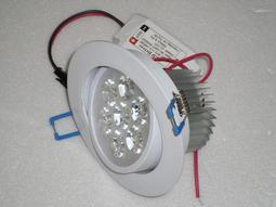[諾亞節能] LED崁燈 700流明7晶 開孔:90mm .可調角度.正白光/暖白光/自然白光 含變壓器 LED燈泡