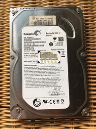 【領字號】【二手良品 硬碟】Seagate 500GB/SATA/7200
