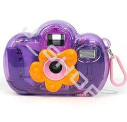 【特價】LOMO  芭比花仙子姐姐相機 帶閃燈  (紫色)
