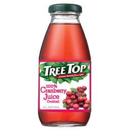 樹頂100%蔓越莓綜合果汁300ml 玻璃罐