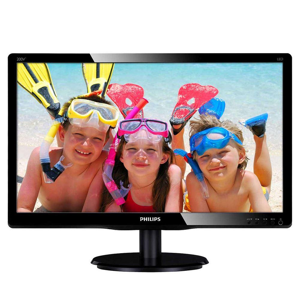 【首下載APP送$100】PHILIPS 飛利浦 20型 200V4QSBR 液晶螢幕顯示器 LCD