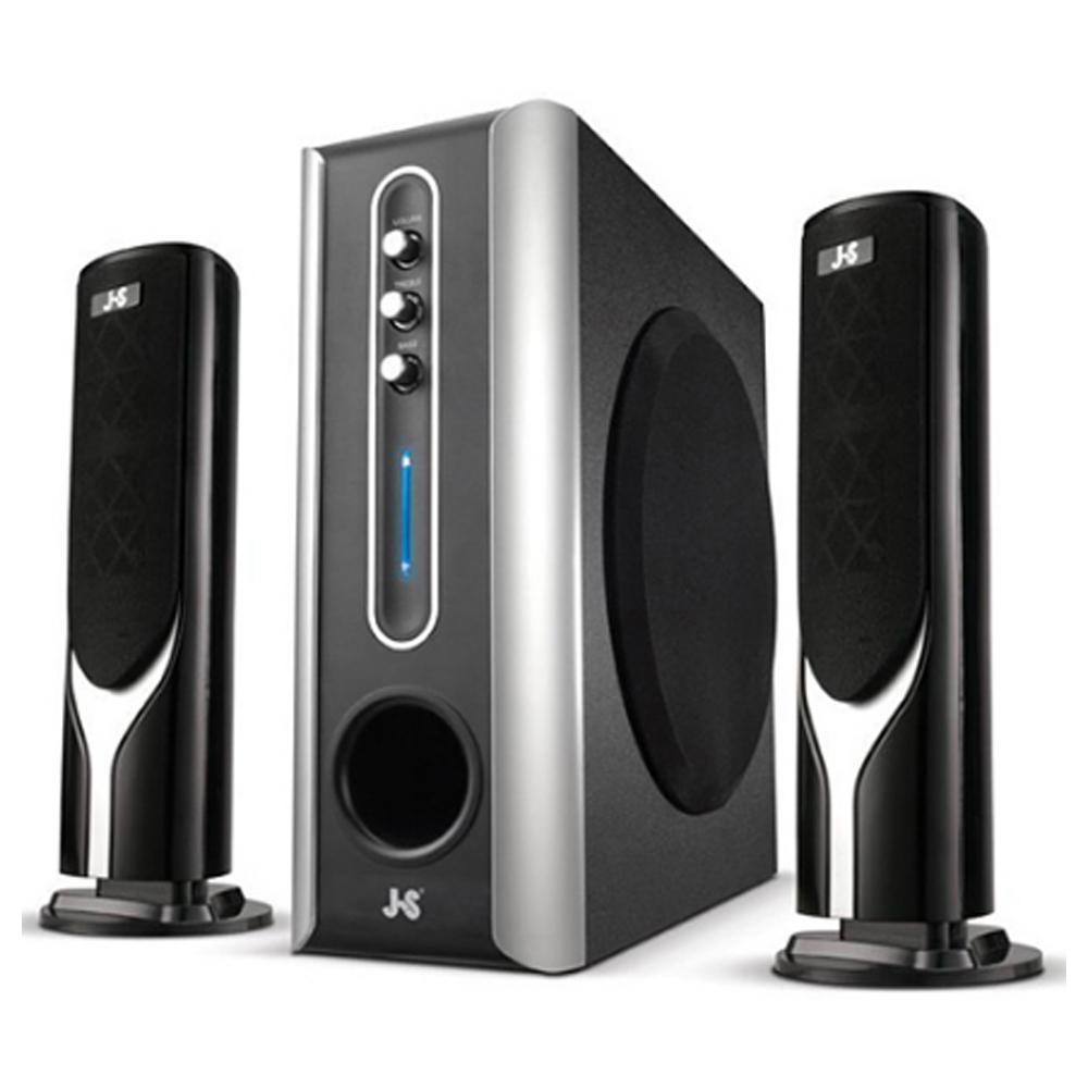 【首下載APP送$100】JS 淇譽 JY3017 超重低音三件式多媒體喇叭 3800W
