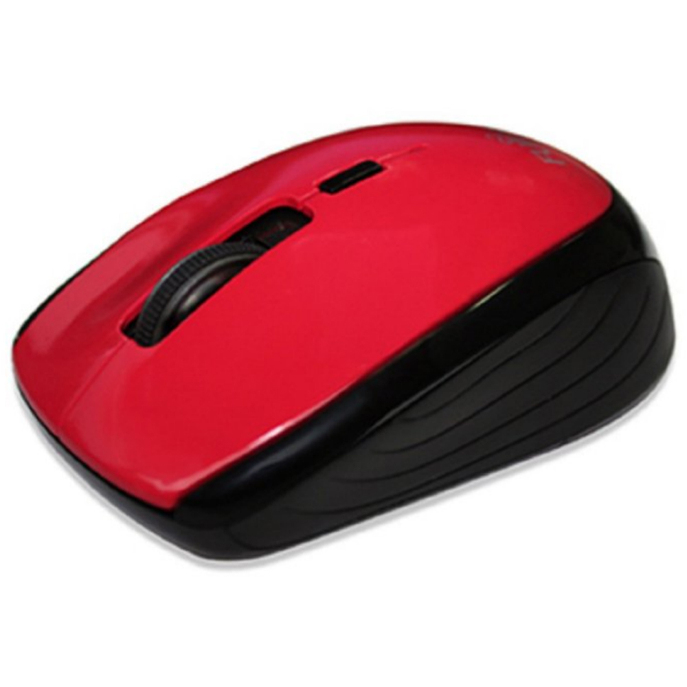 【首下載APP送$100】FUJITSU 富士通 FR400 USB 無線光學滑鼠 紅色