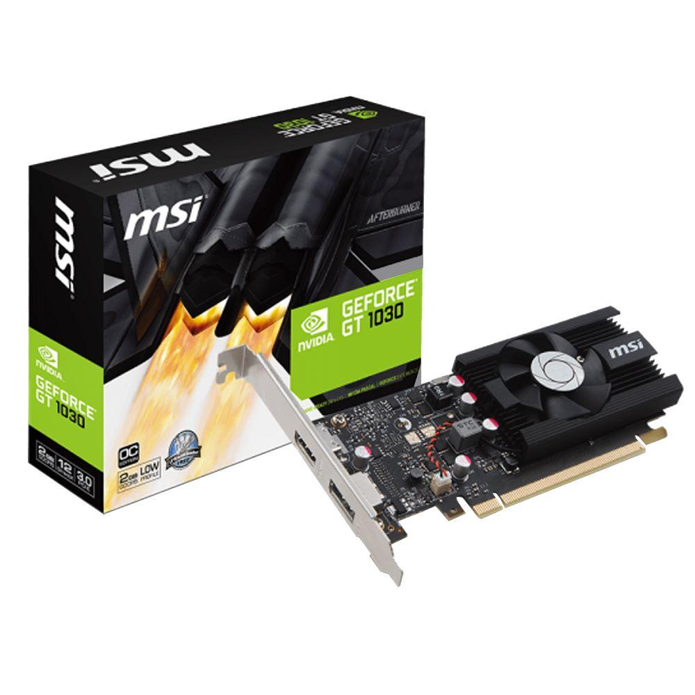 【首下載APP送$100】MSI 微星 GT 1030 2G LP OC 顯示卡