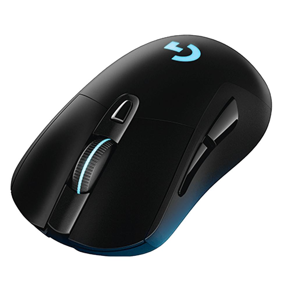 【首下載APP送$100】Logitech 羅技 G403 無線遊戲滑鼠 黑色