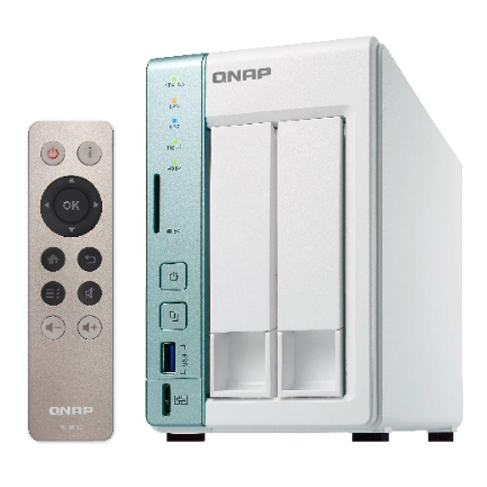 【首下載APP送$100】QNAP 威聯通 TS-251A-4G 2Bay NAS網路儲存伺服器 (不含硬碟)