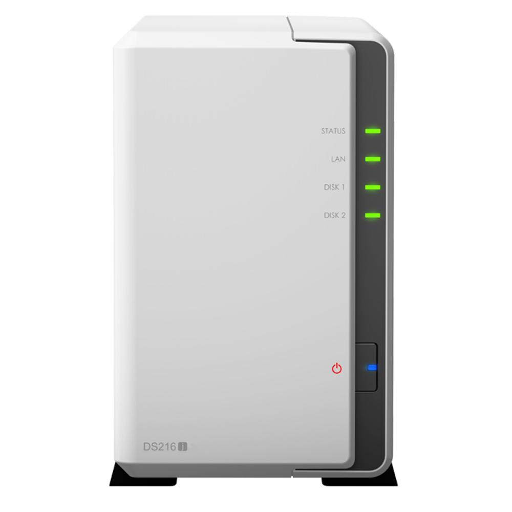 【首下載APP送$100】Synology 群暉科技 DS216j 2Bay NAS 網路儲存伺服器 (不含硬碟)