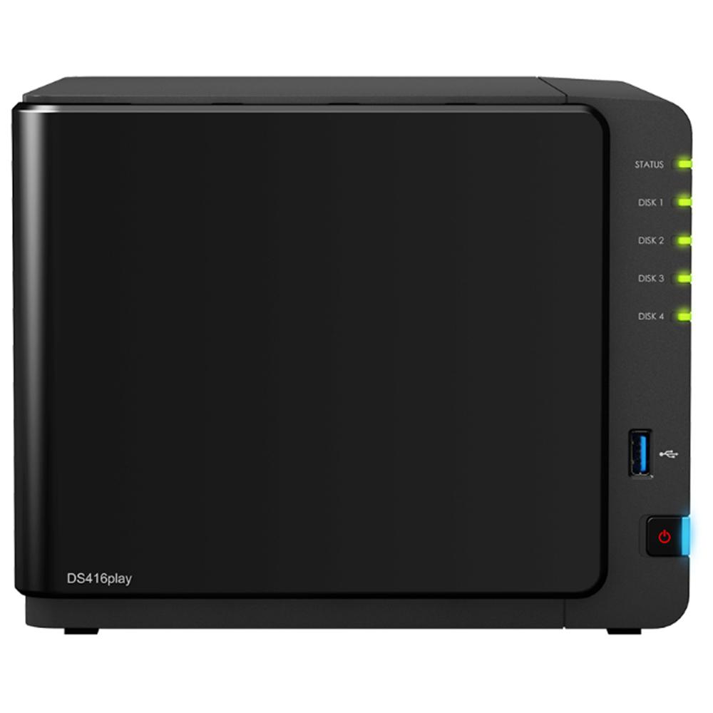 【首下載APP送$100】Synology 群暉科技 DS416play 4Bay NAS 網路儲存伺服器 (不含硬碟)