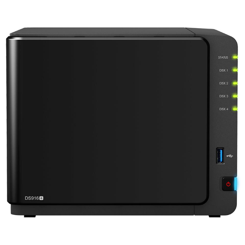 【首下載APP送$100】Synology 群暉科技 DS916+(2GB) 4Bay NAS 網路儲存伺服器 (不含硬碟)