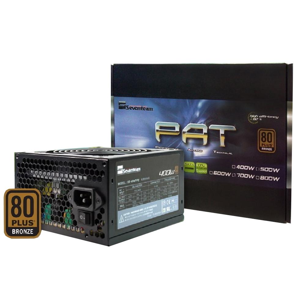 【首下載APP送$100】Seventeam 七盟 500W ST-500PAT 80+銅牌 電源供應器