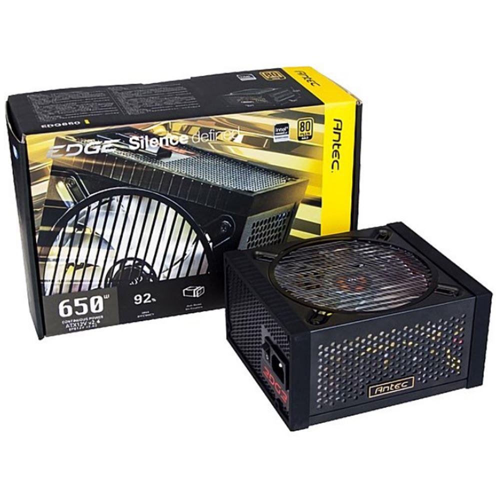 【首下載APP送$100】Antec 安鈦克 EDGE 650W 全模組化 金牌80+ 電源供應器