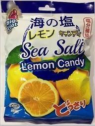 (現貨)糖果小鋪-BF(big foot)海鹽檸檬糖150g 薄荷玫瑰鹽檸檬糖138g