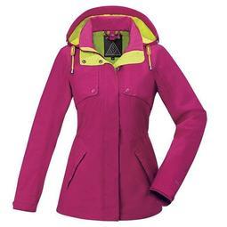 歐都納 Atunas GORE-TEX 單件式外套 防水外套 A-G1718W 桃紅色 經典款 ☆?°小荳の窩 °?☆㊣