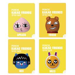 韓國 KAKAO 大頭公仔牙刷架 多款可選【櫻桃飾品】【23038】