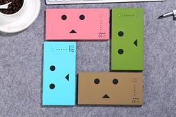 熱賣新款~可愛紙箱人 便攜 行動電源 蘋果 iphone 安卓 sony 三星 小米 平板適用(薄款