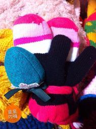 童童內褲 保暖針織造型手套 嬰兒兒童用-草莓