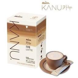 《Chara 微百貨》韓國 Maxim 麥心 KANU 卡奴 孔劉 代言 拿鐵 咖啡 (無糖) 雙倍 10入 30入