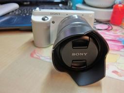 二手相機美品 Sony NEX-F3 送 相機套 相機雜誌 七合一清潔組