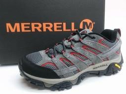 大自在含稅附發票 MERRELL梅洛 登山鞋 健行鞋 MOAB 2 VENT 黃金大底 大尺寸8~13 男 J06023